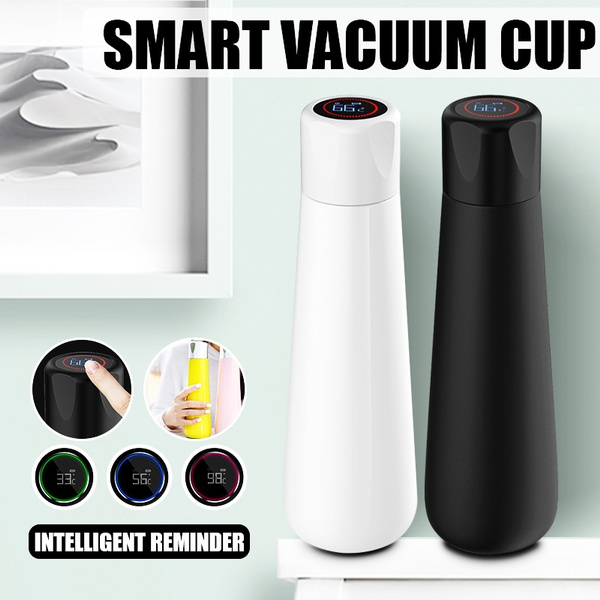 400ml Stainless Steel Water Cup Smart Bottle Reminder Drinking LCD Touch Screen