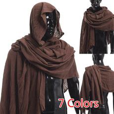 Blues, brown, hooded, Medieval