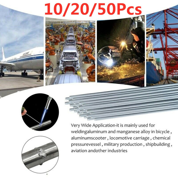 Useful Easy Melt Welding Rods Low Temperature Aluminum Wire Brazing 10//20//50pcs
