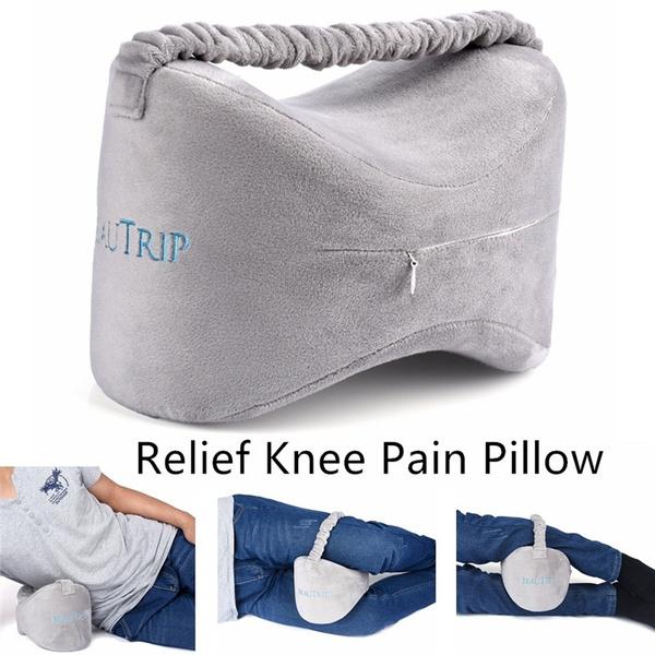 Leg Pain 1 Leg Pillow Knee Pillow Pregnancy Memory Foam Leg Pillow For Sciatica Relief Back Pain