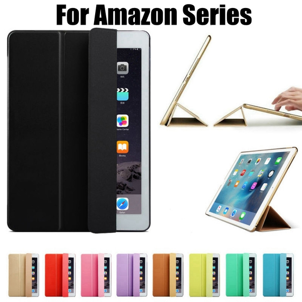 Slim Folding Stand Leather Cover Case with Auto Wake / Sleep for Amazon  All-New Kindle 2019 / Kindle Oasis / New Kindle / Kindle Oasis 2016 /  Kindle