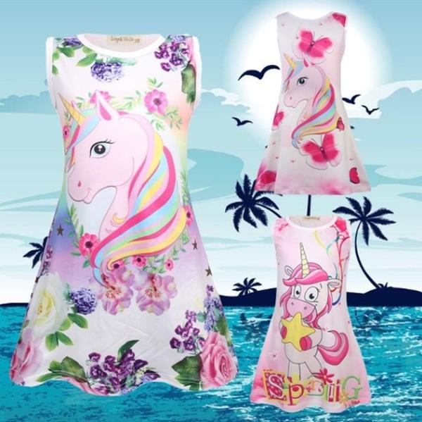 unicornprint, girls dress, Fashion, unicorndre