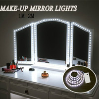 Fashion Makeup Mirror Vanity Led Light Bulbs Usb Charging Port Cosmetic Lighted Make Up Mirrors Filling Light Set With Ul Power Bedroom Decor Wish