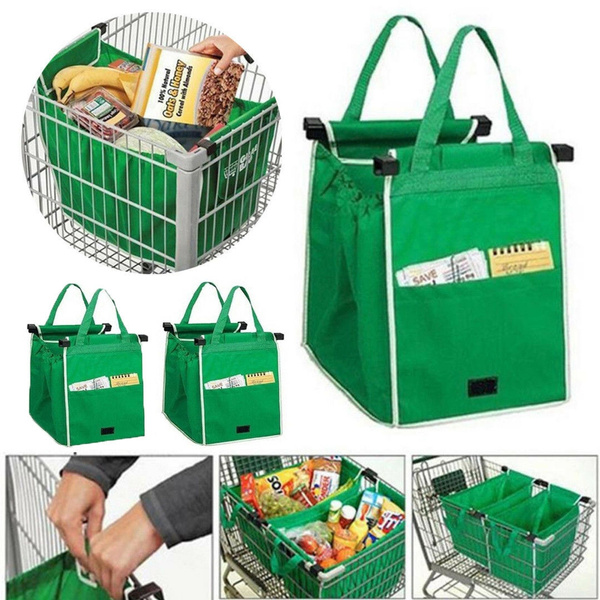 Reusable Trolley Bags Shopping Supermarket Grocery Eco-Friendly Carrier Bag