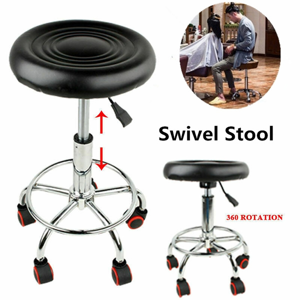 Excellent Adjustable Hydraulic Salon Swivel Stool Chair Facial Massage Rolling New Caraccident5 Cool Chair Designs And Ideas Caraccident5Info