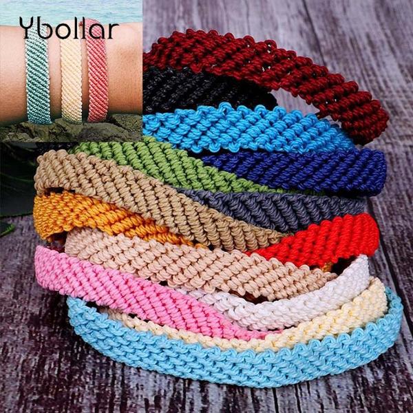 Friendship Bracelets Flat Braided