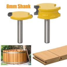 8MM, woodworkingmillingcutter, shank, canoe