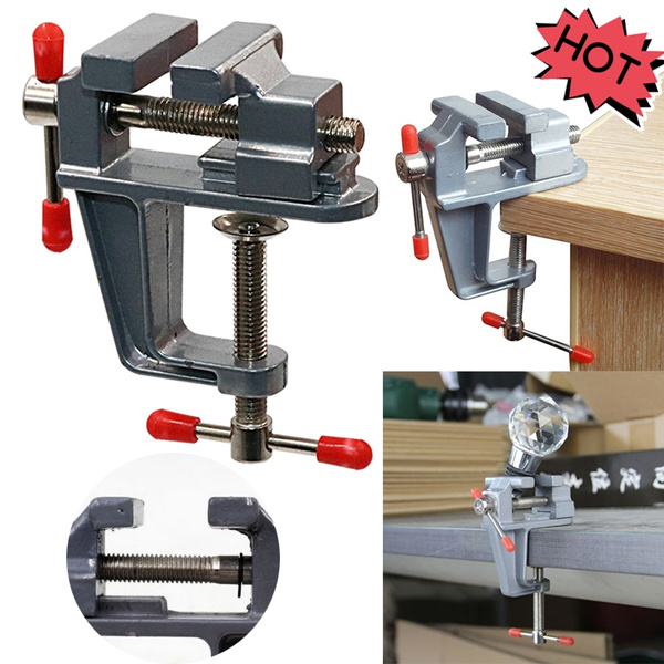 Fantastic Table Clamp Small Bench Vice Jewelers Hobby Clamps Craft Repair Tool Portable Work Bench Vise Aluminum Small Jewelers Hobby Clamp On Table Bench Vise Andrewgaddart Wooden Chair Designs For Living Room Andrewgaddartcom