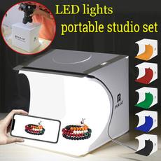 Box, photographyequipment, led, portablehighlightstudio