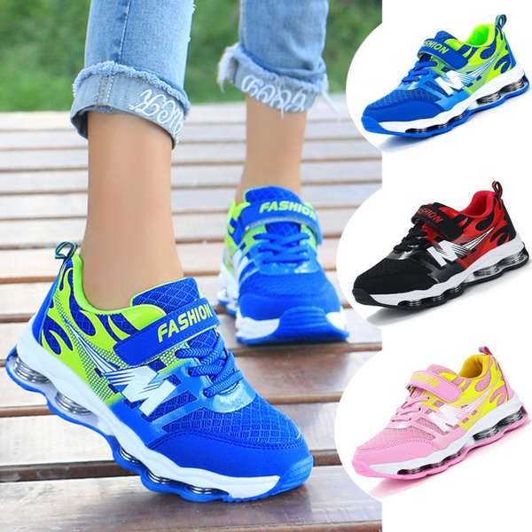 Kids Shoes Boys Casual Shoes Fashion Girls Breathable Running Shoes Sneakers