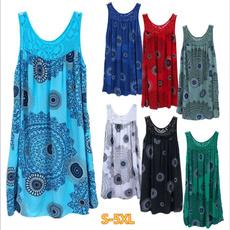 Summer, Vest, Moda, Vestidos
