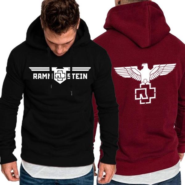 Fashion Jacket German Chariot Rammstein Heavy Metal Rock Band Around Hoodie  Long Sleeve Shirt Casual Sports Hoodie