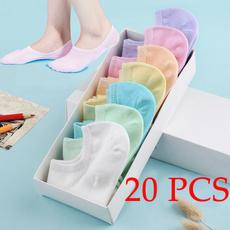 Cotton Socks, Silicone, Socks, invisiblesock