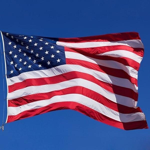 Polyester, countryflag, USA flag, American