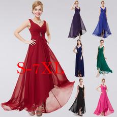 Prom, Fashion, Necks, Chiffon Dresses
