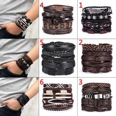 leatherbanglebracelet, Men, Wristbands, Gifts