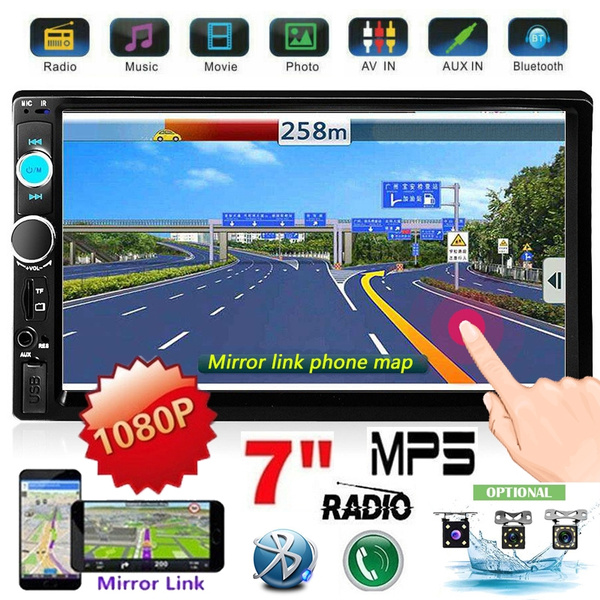 2 din Car Multimedia Player 7010B Audio Stereo radio 7