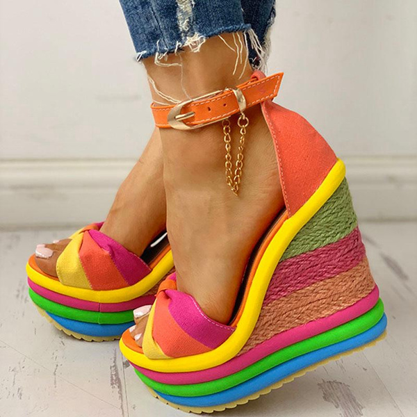 slope, casual shoes, Sandals, Women Sandals