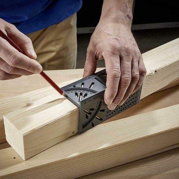 anglemeasuring, Wood, Square, ruler