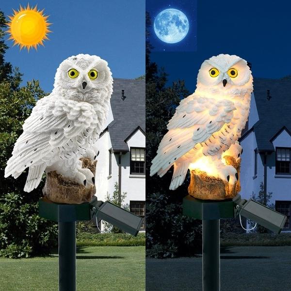 Owl, led, yardlight, Waterproof