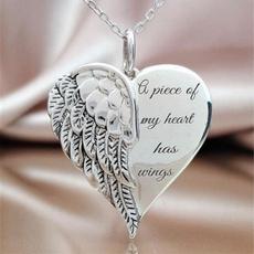 necklacesforwome, Heart, Jewelry, Angel