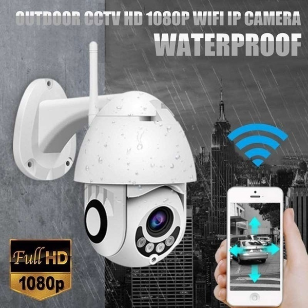 New Ip Camera Onvif Wi Fi 2 Mp Hd 1080 P Wireless Speed Dome Cctv Ir Camera Outdoor Security Surveillance Net Cam Ip Camara Exterior Tf Card by Wish