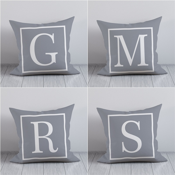 Home & Kitchen, Home Decor, Office, letterpillowcase