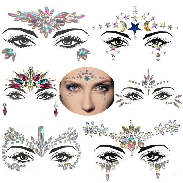 tattoo, eye, Jewelry, Eye Makeup