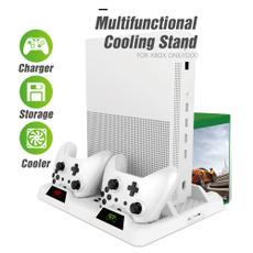 dualcontrollerchargingstation, multifunctionalverticalstand, microsoftxboxoneconsole, Console