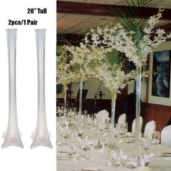 2 Pcs Eiffel Tower Vase Clear Gl Vases for Wedding Party Banquet Events Flower Vases For Events on cards for flowers, fans for flowers, baskets for flowers, care tags for flowers, tall vase wedding flowers, benches for flowers, trees for flowers, jars for flowers, pottery for flowers, jugs for flowers, beads for flowers, teapots for flowers, planters for flowers, footed bowls for flowers, flasks for flowers, signs for flowers, flowers for flowers, plants for flowers, lanterns for flowers, pots for flowers,