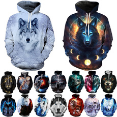 Couple Hoodies, 3D hoodies, Fashion, Colorful