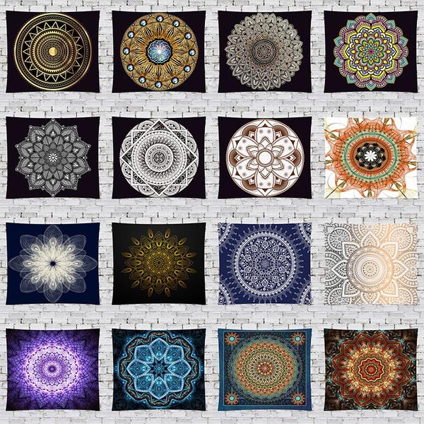 Yoga Mat, Decor, Flowers, backgrounddeocr