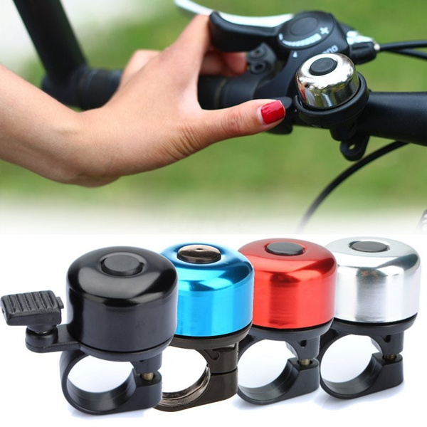 Safety Metal Ring Handlebar Cycling Bike Bicycle Bell Loud Sound