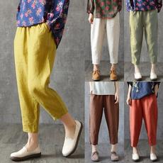 Women Pants, linens, trousersforwomen, Plus Size