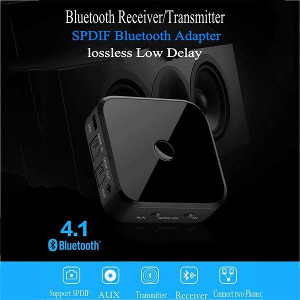 HIFI Wireless Adapter Bluetooth Receiver Transmitter Audio 3 5mm SPDIF  Optical Fiber For Smartphone PC TV Headphone STB