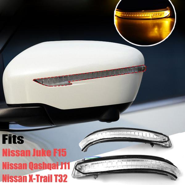Right Side Mirror Turn Signal Light Fit For Nissan Juke Qashqai X-Trail