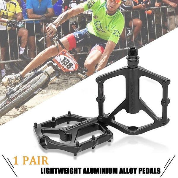Bike Pedal Lightweight Aluminium Alloy Bearing Pedals for BMX Road MTB Bicycle