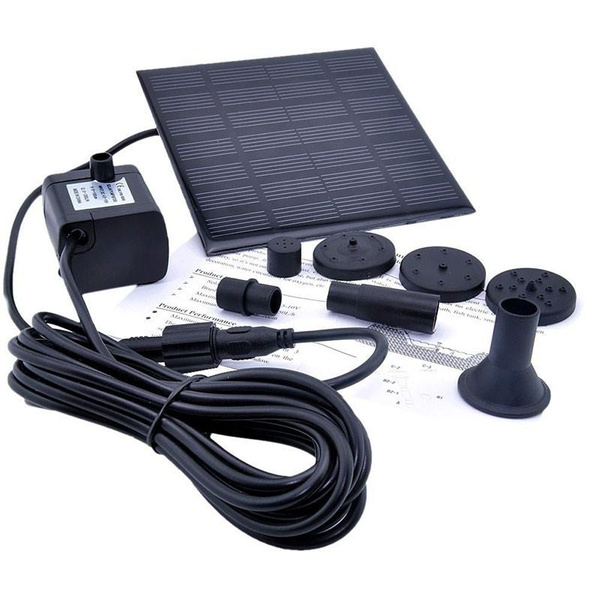 solarpoweredpump, Garden, hosepump, waterfountain