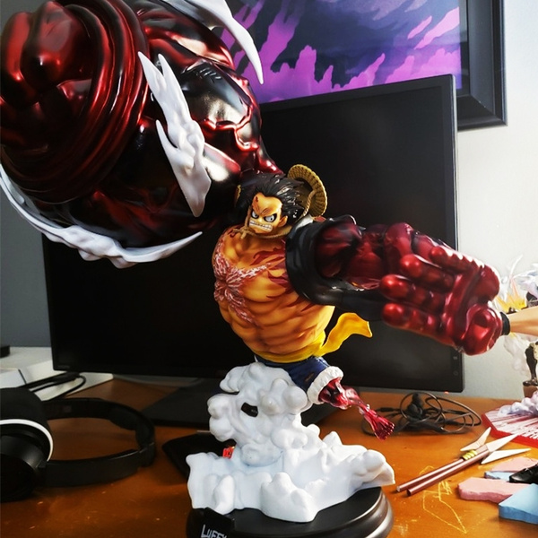 Anime One Piece Super Big Monkey D Luffy Luffy Gear 4 Figure Gear Fourth King Kong Gun Action Figure 39cm