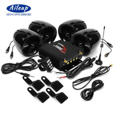 motorcycleaccessorie, caraudioplayer, stereobluetoothspeaker, 4speakersamplifiersystem