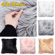 fur, Home Decor, sofacushioncover, Home & Living