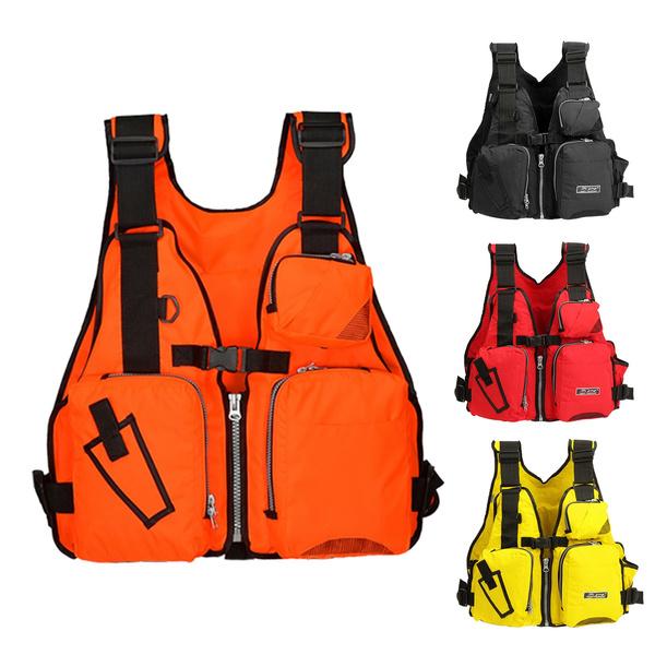 Adult Adjustable Buoyancy Aid Sail Kayak Canoeing Fishing PFD Life Jacket
