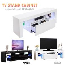 gloss, led, whitecabinet, TV