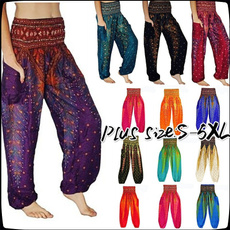 Women Pants, peacock, harem, Plus Size