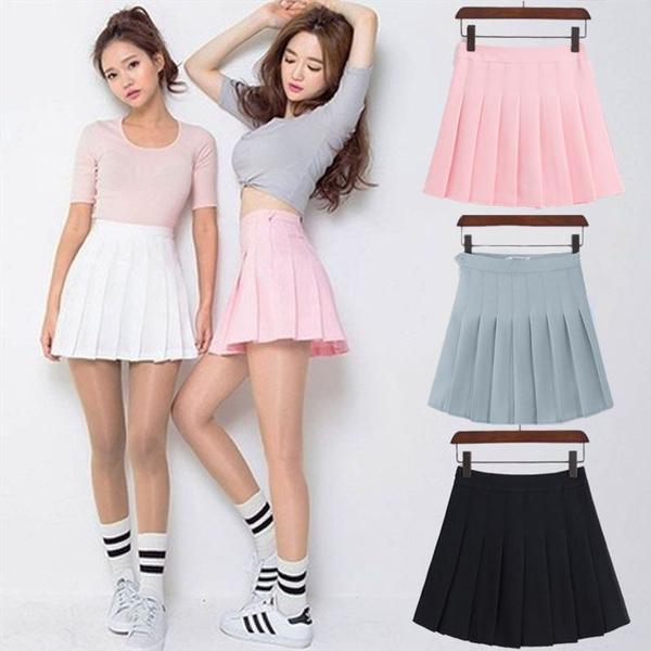 Kawaii, Fashion Skirts, high waist, Shorts