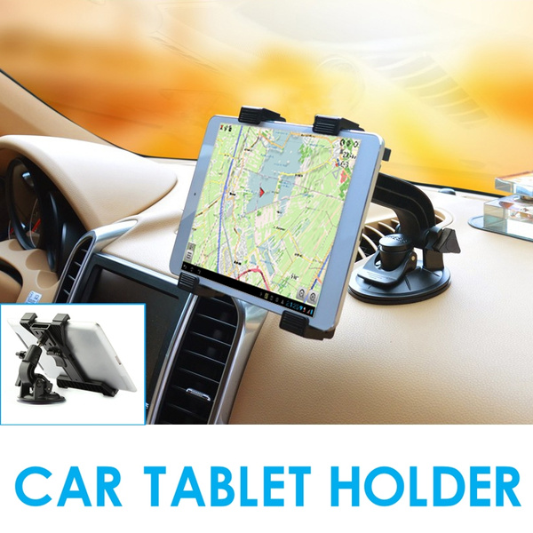 TABLET CAR HOLDER PHONE BRACKET DESKTOP SHELF WINDSHIELD CAR MOUNT CRIP FOR  7-11 INCH PAD