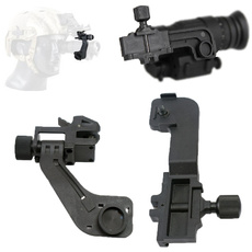 Black NVG PVS-7 14 NV Mount Tensile Strap Band for MICH M88 LWH Helmet DIY