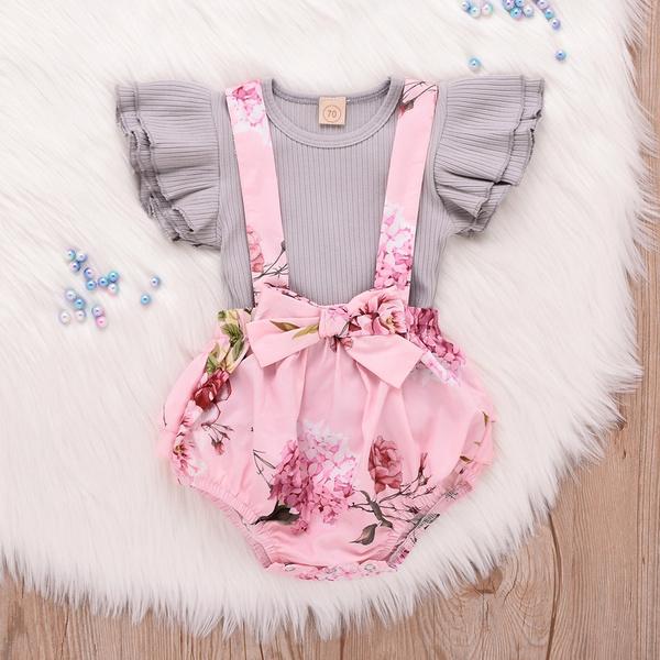 sleeveless, Baby Girl, Shorts, ruffle