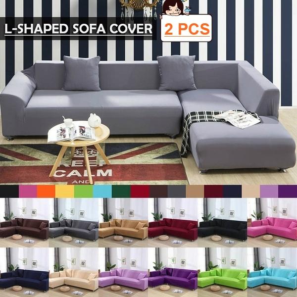 L Shape Sofa Universal Stretch Fabric