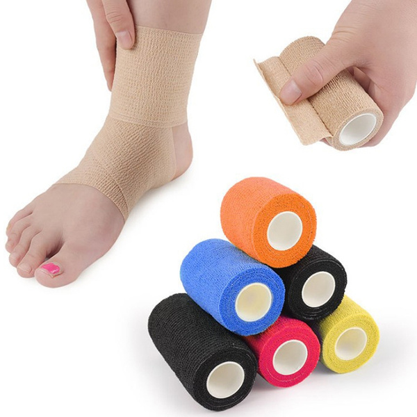 4 5m Long Wristband Self Adhesive Movement Fixed Elastic Bandage
